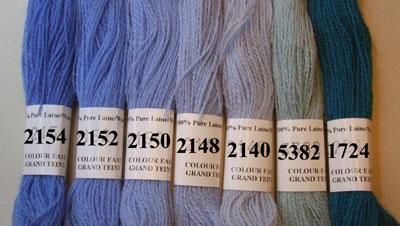 Filato di lana per ricamo d/'arazzo Anchor