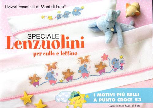 Speciale Lenzuolini Per Culla E Lettino N53 Mani Di Fata Tombolo